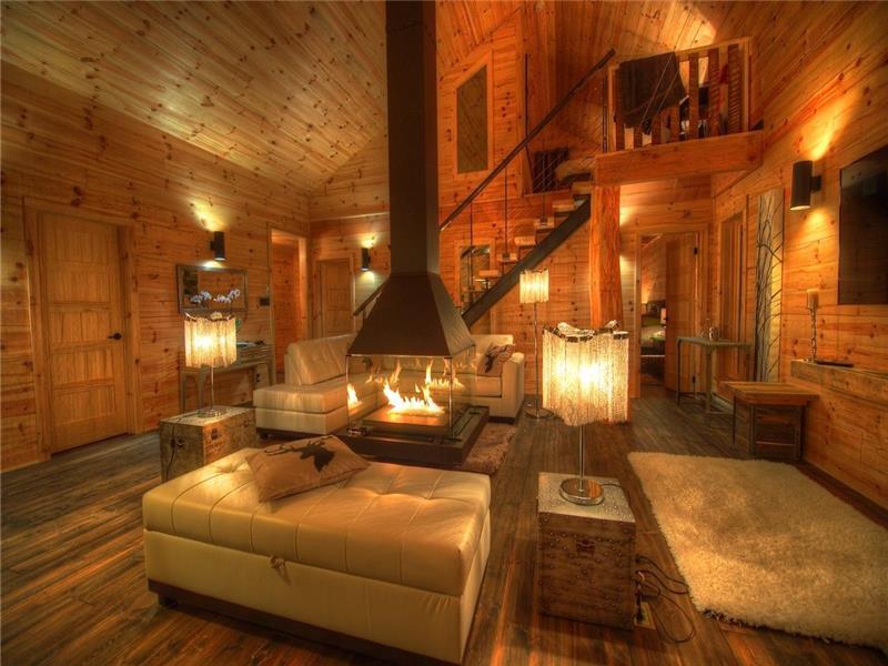 val d 39 isere les chalets spa chalet louer la malbaie di 15436 chaletsauquebec. Black Bedroom Furniture Sets. Home Design Ideas