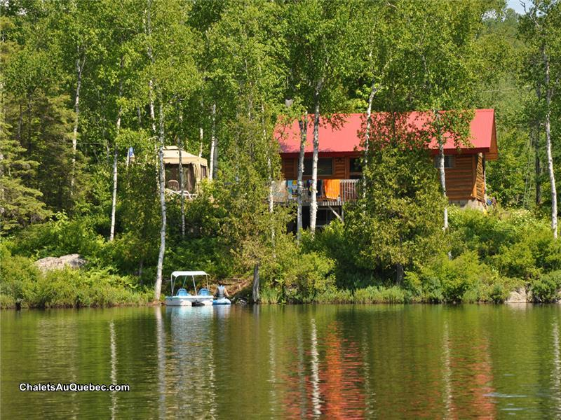 Chalet En Bois Rond Quebec A Vendre : Log Cabin for Sale Iowa