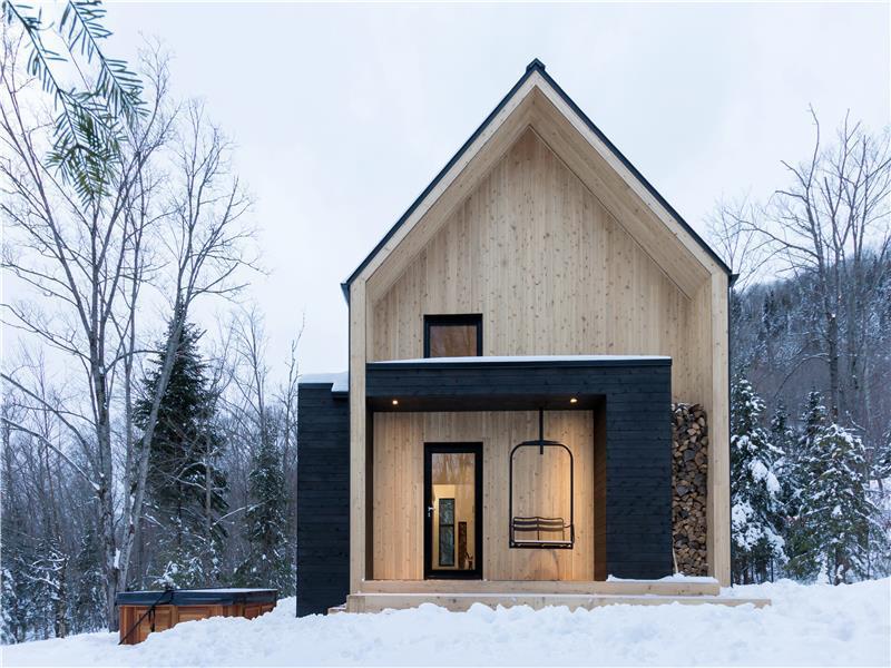 Villa bor ale charlevoix chalet louer petite rivi re for Petite maison scandinave