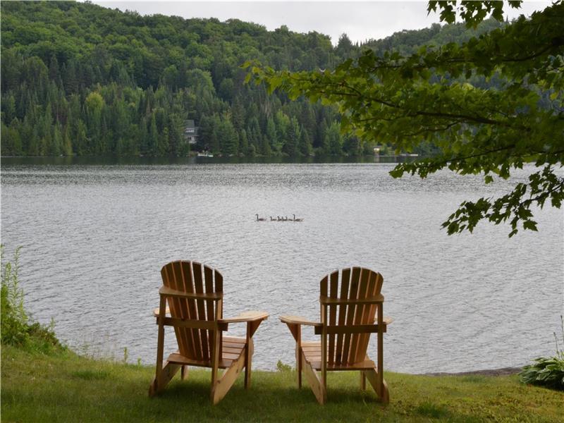 chalets a louer bord du lac chalet 224 louer ste des laurentides di 23451 chaletsauquebec