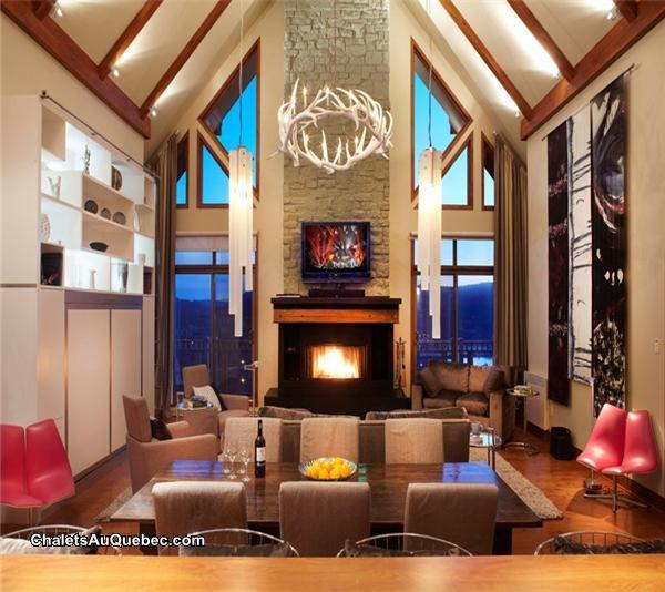 Altitude Condo 172 10 3brs Hot Mont Tremblant Cottage