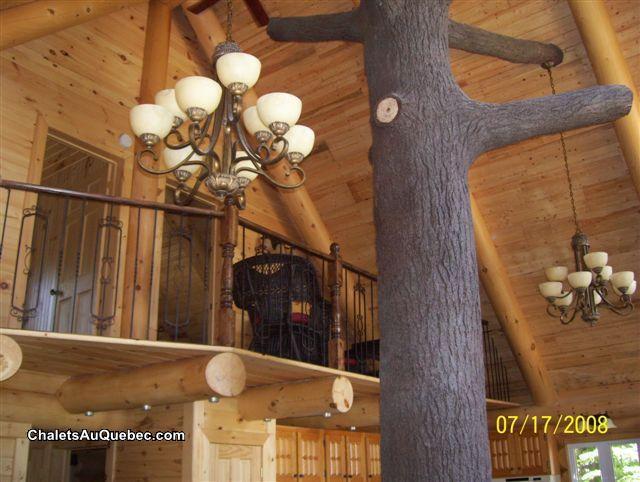 Le bois rond relax - Chalet à louer St-Tite-des-Caps   DI-4962 ...