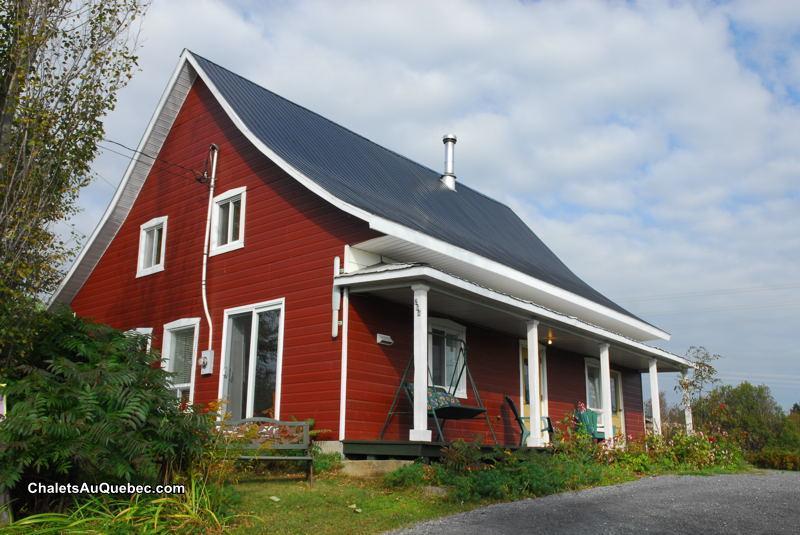 La maison du d tour chalet louer baie saint paul di for Auberge grande maison baie st paul