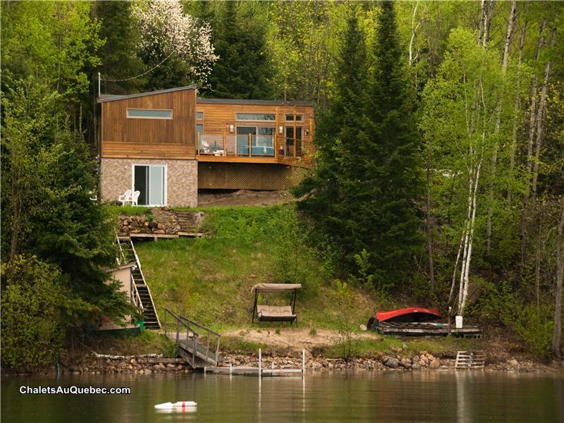 Terrific Chalet Rose Et Lys Exceptional Bouchette Cottage Rental Home Interior And Landscaping Analalmasignezvosmurscom