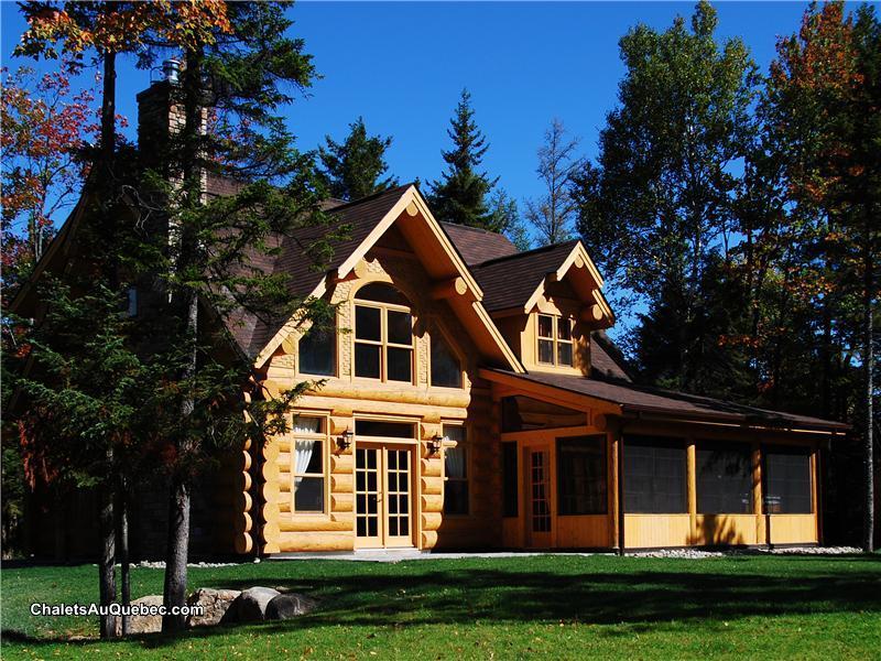 Fiddler Lake Resort 50 Log Cabins St Sauveur Cottage