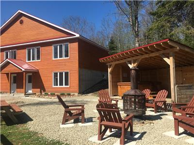 Chalet LaRocheRonde Price is for twins 3 rooms condos 15 min. from Ski Massif Charlevoix