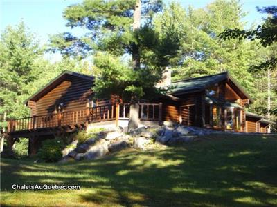 Beautiful log home for sale