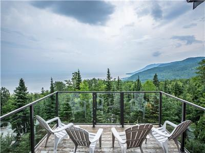 Condo Ski Nature... The vew, the comfort! Top floor with hot tub