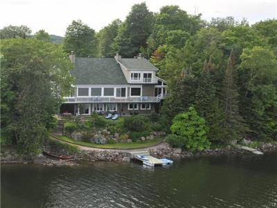 LAKEFRONT DREAM HOME: 1-hr Ottawa.  Fully self-contained 2 BR Guest Suite or established rental