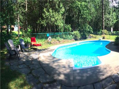 Le Paruline & SPA - inground pool ! Mont-Orford & Magog