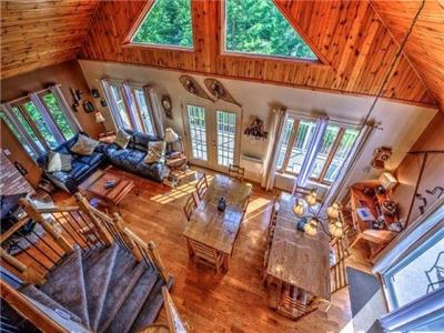 Cottage For Rent In Mont Tremblant