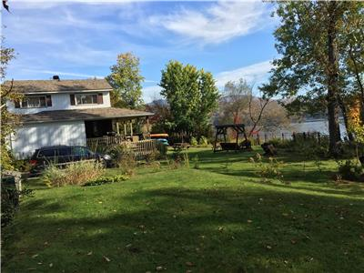 Cottage for sale Mont Tremblant Waterfront Lac Ouimet