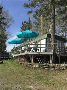 Cottage for rent, waterfront, Jerry lake (Packington)