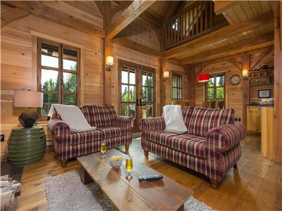 Chalet L'Everest,Spa,Nature-Charlevoix
