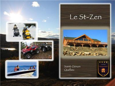 Gorgeous Chalet for Rent in St-Zénon - the Joys of Summer !