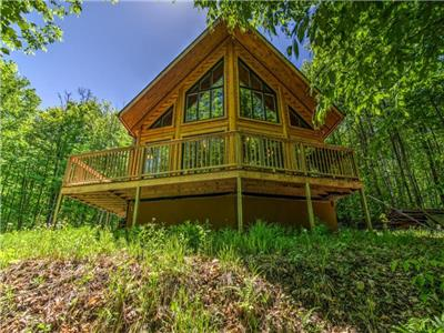 Luxurious & Modern Log Home | Minutes from Tremblant!