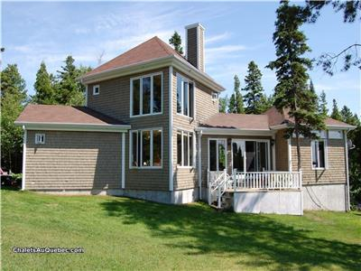 Luxuary cottage in Lac St-Jean