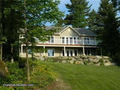 Beautifull appartment acces a private on Memphrémagog lake and close the Owl'S head  montain