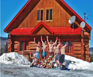 Le Scandinave chalet with spa