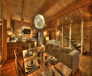 Chic Cottage Ski & Nature-Chalets Spa Canada