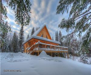 chalet  Nochette Spa, Lake,  Ski & Snowmobile