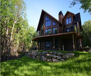 Luxury Cottages on Walfred Lake
