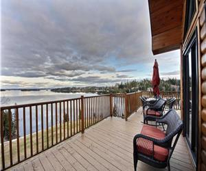 Chalet de r�ve - tranquilit� et vue exeptionnelle sur le Lac-St-Jean