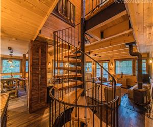 CHALET TAO 6 Pers. montagne, ski and fire place