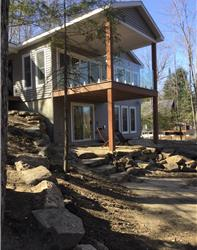 Lake and forest - new built