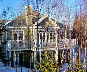 Domaine du Lac Trois-Saumons / résidence-chalet de prestige