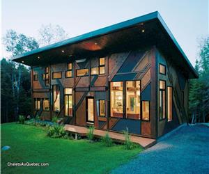 Sculptural country cottage