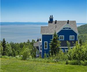 Horizon bleu toujours en grande demande. Vous pouvez aussi réserver 3 chambres pour 6 personnes,