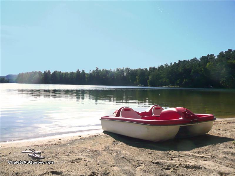 chalet 224 louer lac du cerf laurentides lac du cerf plage privee pl 8199